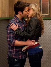 I love you break up kiss