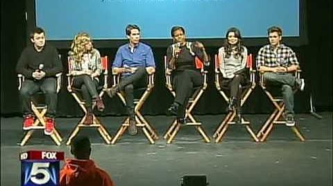 Michelle Obama, iCarly cast - Alexandria, VA - FOX DC
