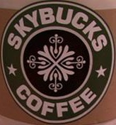 Skybucks coffee logo
