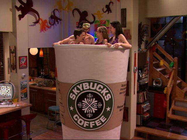 File:Carly, Spencer and Friends take a Coffee Bath.JPG