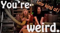You're Weird, by CreddieCupcake
