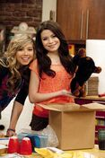 Sam Puckett and Carly Shay