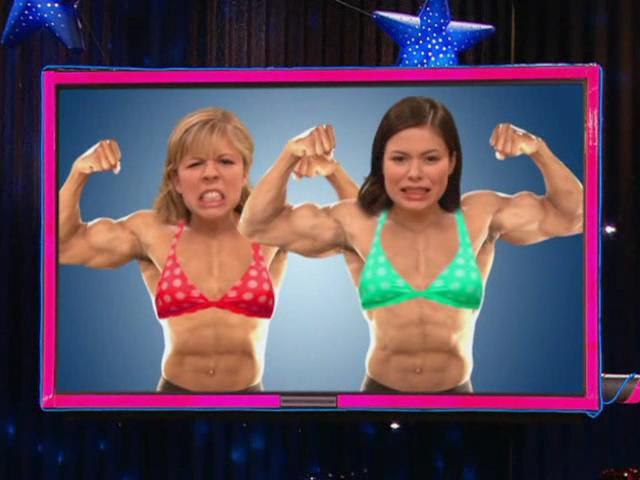 File:Carly & Sam at the Gym.JPG