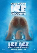Ice Age Collision Course Manny Poster