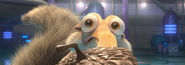 Scrat notices Scratazon and her guards