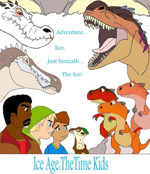 Fan:ICE AGE: The Time ... Ice Age 5 The Revenge Of Red Horn Momma Dino