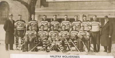 1934-35 Halifax Wolverines Allan Cup Champions
