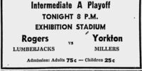 1958-59 Saskatchewan Intermediate Playoffs