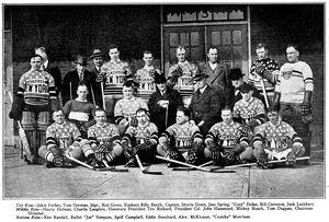 1925 26 NYAmericans NHL