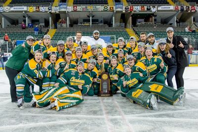2017 NCAA Division I Women's Champs Clarkson Golden Knights