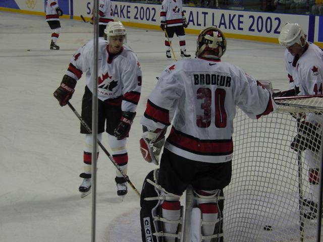 File:Smyth Brodeur Pronger 2002 Olympics.jpg