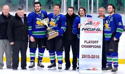 2016 NCJHL champs Papineau Vikings