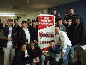 Maxville Mustangs East Div champions