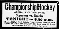 1932-33 Alberta Senior Playoffs