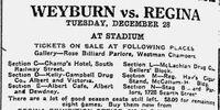 1920-21 Saskatchewan Senior Playoffs