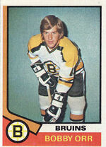 Bobby Orr 1974 Card mid
