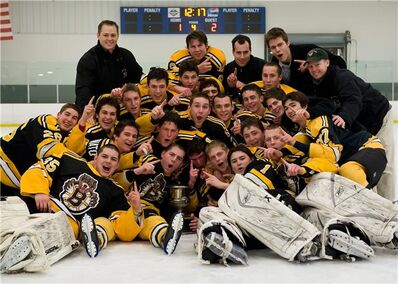 2009 playoffchamps Empire JHL Boston Jr Bruins