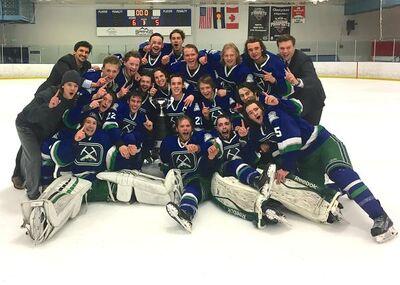2017 RMJHL champs Pikes Peak Miners