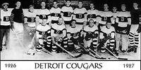 1926–27 Detroit Cougars season