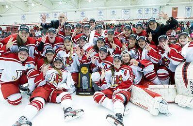 2016 NCAA D-III Women's champions Plattsburgh State Cardinals