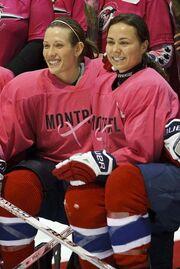 MontrealCWHL PinkJerseys