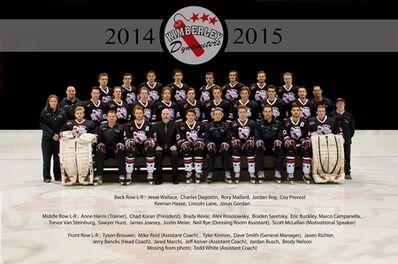 2015 KIJHL champs