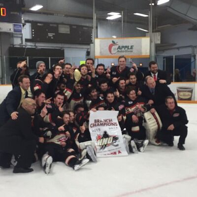 2016 SIJHL champs Fort Frances Lakers