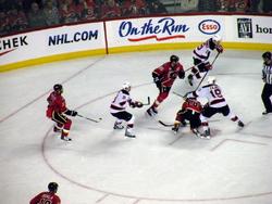2010 Flames vs Devils