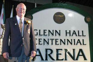 Glenn Hall Centenial Arena photo