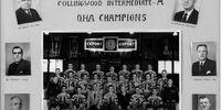 1951-52 OHA Intermediate A Groups