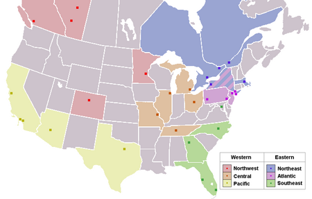 National Hockey League team locations