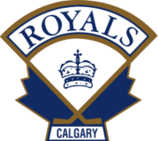 Calgary Royals logo (to 2010)