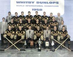 Whitby Dunlops 1958