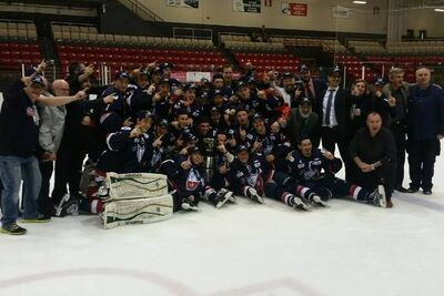 2016 QJHL champs Longueuil College Francais