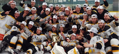 2016 GMJHL champs Tottenham Steam