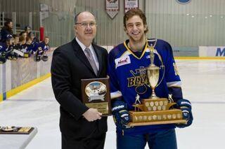 Derek Gingera (2012 Lorne Lyndon for Hockey Ability & Sportsmanship).