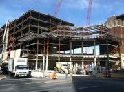 PPL Center construction in Allentown, Pennsylvania