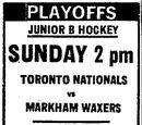 MetJHL Standings 1971-72