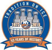 Islanders 2015 commemorative logo