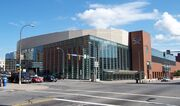 Rochester Blue Cross Arena - NW Exterior