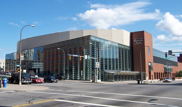 File:Rochester Blue Cross Arena - NW Exterior.jpg