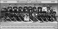 1939–40 Montreal Canadiens season