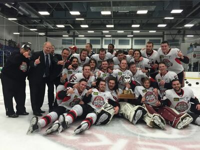 2016 MHL champs Pictou County Crushers