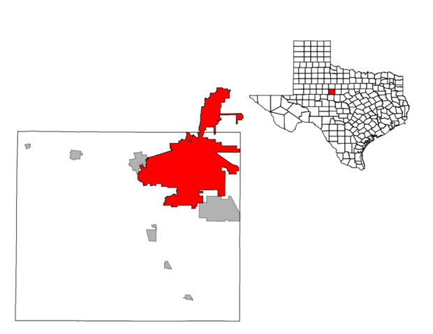 File:Abilene, Texas Map.png