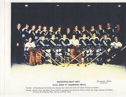 1970-71 Woodstock Navy-Vets