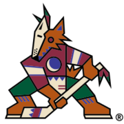 Original Phoenix Coyotes logo