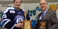 MJHL Top Goaltender Award Winners photo gallery
