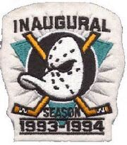 Ducks inaugural season patch