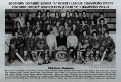 1972-73 Chatham Maroons