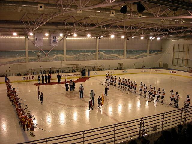 File:2009 IIHF World U20 Championship opening ceremony.JPG
